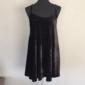 "American Eagle ""Dont Ask Why"" Velvet Mini Dress"